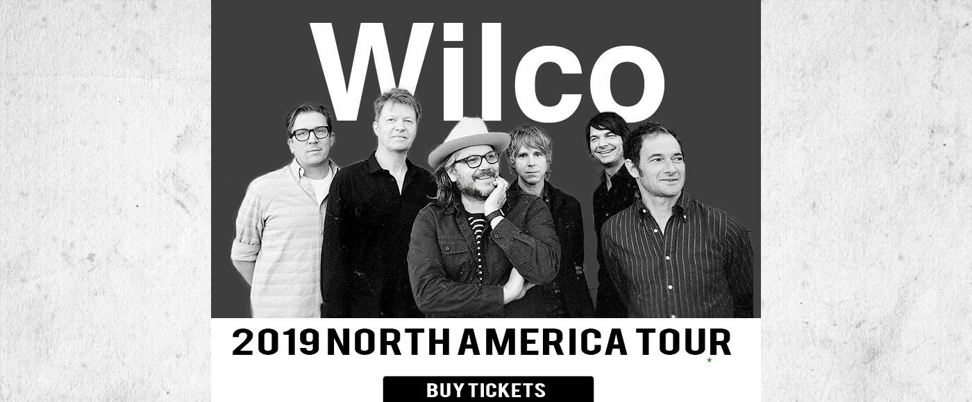 Wilco at Hill Auditorium